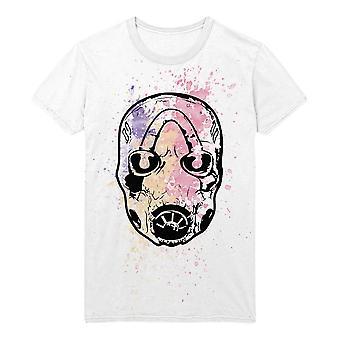 Borderlands Psycho Splatter T-shirt mâle grand blanc (TS001BOR-L)