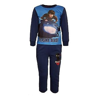 Dragons boys tracksuit jogging toothless hiccup dra5927trk