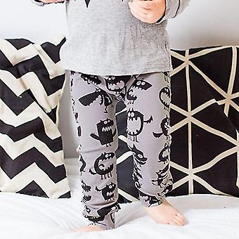 Newborn Baby / Kids Monster Bottom Harem Pants- Leggings Trousers 0-3y Cotton,