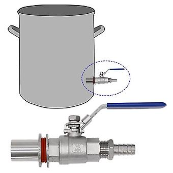 """1/2"""" 304 Stainless Steel Welding-free Compact Pagoda Joint Seamless"""