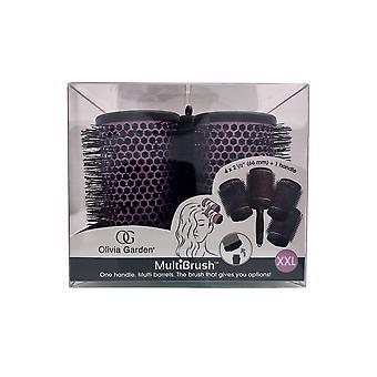 "Olivia Garden Multibrush Detachable Thermal Styling Brush Kit 4 x 2 1/2"" (66 mm)"