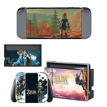 The Legend Of Zelda Skin Sticker Vinilo Nintendo Switch Stickers Skins