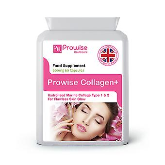 Collagen Pure Marine Collagen 600mg – 60 Capsules | Made In UK