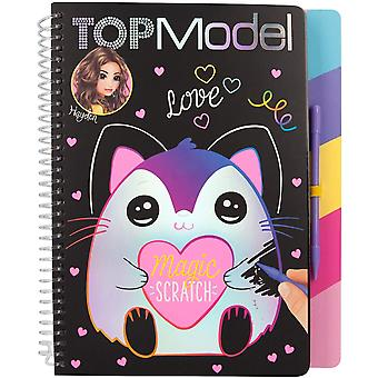 Depesche Top Model Magic Scratch Book