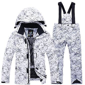 jenter / gutter ski dress- vanntett termisk vinter klær&ampos, skidresser- 30
