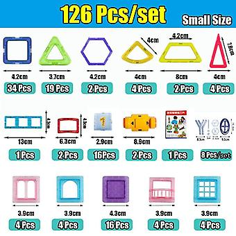 Mini Magnetic Designer Construction Set Model & Building Plastic Magnetic