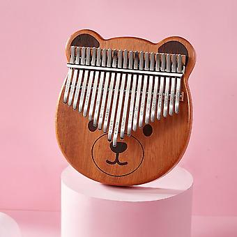 Kalimba Cartoons Thumb Piano Instrument de musique, Finger Teclado Machine
