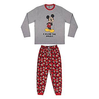 Men's Disney Mickey Mouse 'I Make the Rules' Pyjama Set