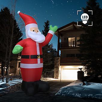 Inflable Santa Claus LED IP44 600 cm XXL