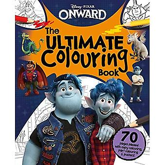 Disney Pixar Onward: The Ultimate Colouring Book (Mammoth Colouring)