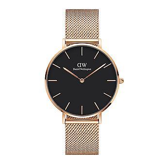 Daniel Wellington DW00100303 Petite Melrose Black Dial Wristwatch