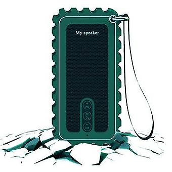 10W IP67 Waterproof Wireless bluetooth Speaker FM Radio TF Card Handsfree