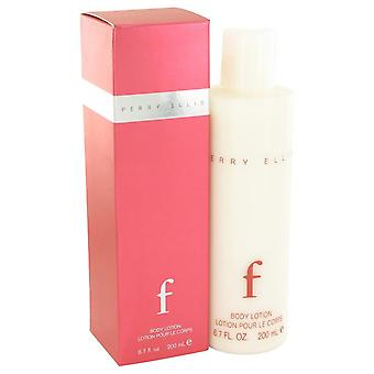 Perry Ellis F Körperlotion von Perry Ellis 6,7 oz Bodylotion