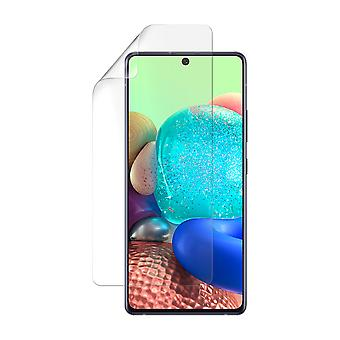 Celicious Vivid Plus Mild Anti-Glare Screen Protector Film Compatible with Samsung Galaxy A71 5G [Pack of 2]