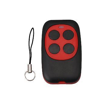 250-868MHZ Rød 4 kanaler garageport fast kode kopi fjernbetjening nøgle
