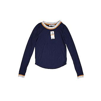 Planet Gold | Ribbed Knit Ringer Sweater