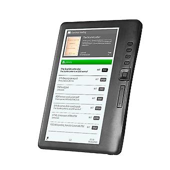 Portable E-book Reader 8gb 7inch Multifunction E-reader Backlight & Lcd Display