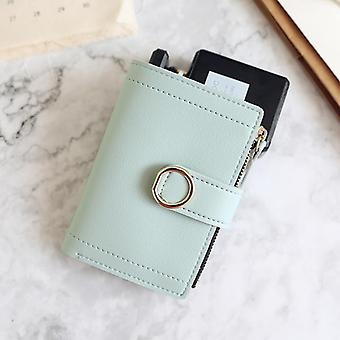 Women Fashion Brand Leather Wallets, Ladies Card Bag For Clutch Purse Money
