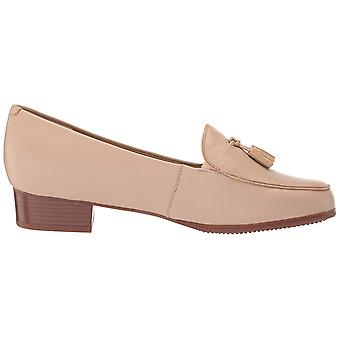 Trotters Womens Mary Leather Round Toe Loafers