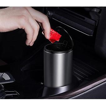 Bin Can Mini Auto Dust Organizer Car Interior Rubbish Bag