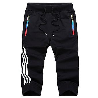 Summer Men's Sportswear Sweatpants Jogger Pantalones transpirables