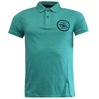 Timberland Earthkeepers Green Cotton Button Up Mens Polo Shirt 6008J 306 R12I