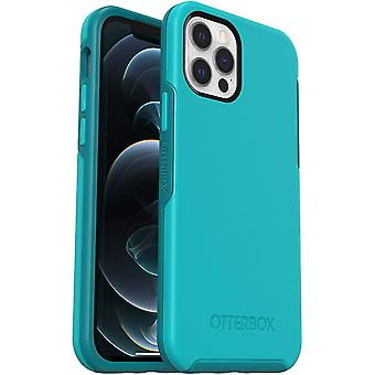 OtterBox Symmetry Series, Sleek Protection for Apple iPhone 12/12 Pro - Blue