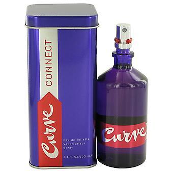 Kurven tilslutning af Liz Claiborne Eau De Toilette Spray 3,4 oz/100 ml (kvinder)