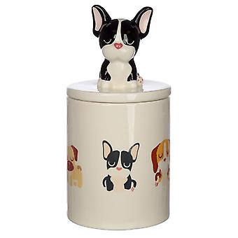 Puckator Dog Squad French Bulldog Treat Jar