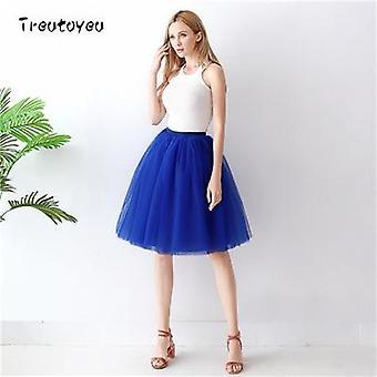 5 στρώματα πτυχωμένη φούστα