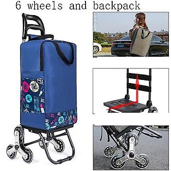 Household Trolley Woman Shopping Portable Cart