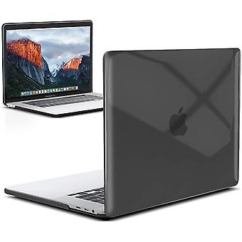 InventCase Sztywna twarda obudowa do MacBooka Pro 16&; 2019 / 2020 A2141 Laptop - Crystal Clear Black