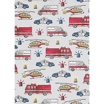Erismann Vehicle Siren Kids Wallpaper