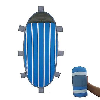 210x95cm Outdoor Single Air Inflatable Mat Portable Ultralight Sleeping Pad Beach Camping Picnic Moi