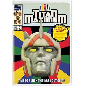 Titan Maximum: Season 01 [with Mini Comic Book] [DVD] USA import
