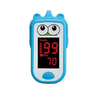 Baby finger oximeter for children kids finger clip pulse backlit screen precise health testing convenient oximeter health care
