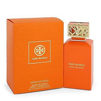Knock On Wood Extrait De Parfum Spray By Tory Burch 3.4 oz Extrait De Parfum Spray