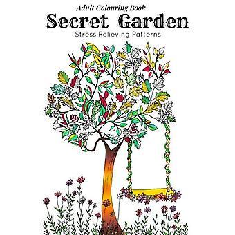 Libro para colorear para adultos: Jardín secreto : Plantillas de relajación para la meditación y la calma