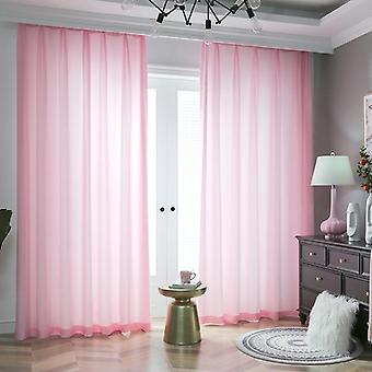 Sheer Curtains For Living Room ( Set 3)