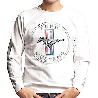 Ford Mustang Emblem Men's Sweatshirt
