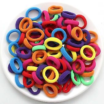 Kinderen klein haar stropdas baby hoofdbanden kleurrijke elastische haarbanden nylon touw