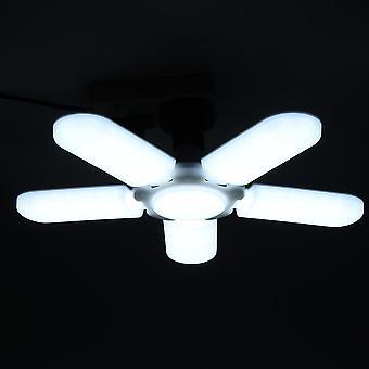 Iluminación industrial súper brillante 75w E27 Led ventilador garaje lámpara de luz de luz