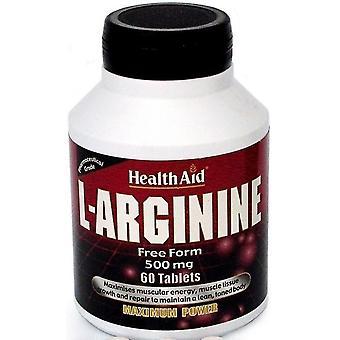 Terveysapu L-Arginina 500 mg 60 Comprimidos