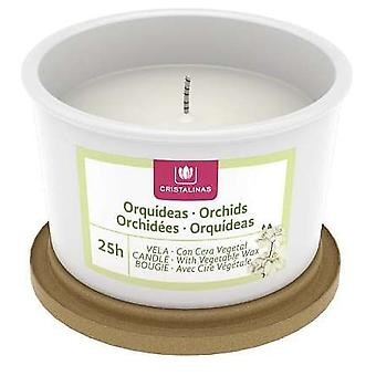 Cristalinas Classic gelatto candle Crystalline orchids