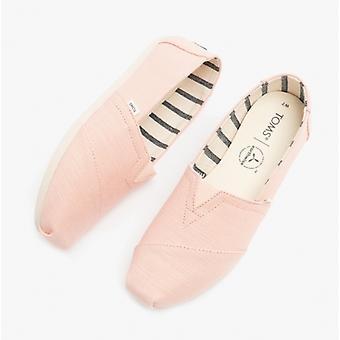 TOMS Alpargata Ladies Canvas Espadrille Shoes Spanish Villa