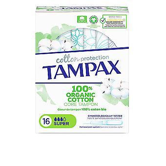 Tampax Tampax Organic Super Tampón 16 Uds dla kobiet