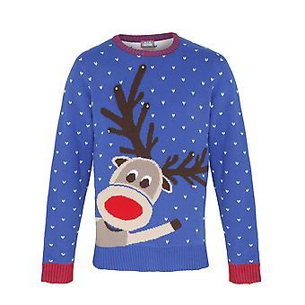 Noël Boutique adultes Rennes unisexe Noël pull/Sweatshirt avec des cloches