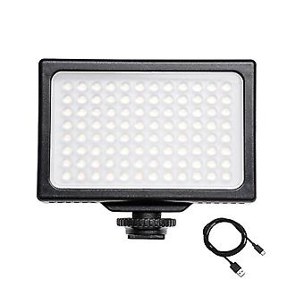 Led video light 3200k-5600k dimmable panel portable photography fill