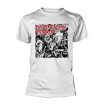 Extreme Noise Terror Performance (weiß) Offizielles T-Shirt Unisex
