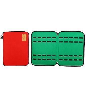 40-slot Felt, Watch Storage Case Pouch, Double-layer Watch Box